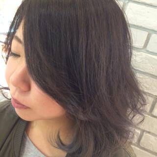 アッシュ 暗髪 ボーイッシュ ストリート ヘアスタイルや髪型の写真・画像