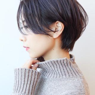 ショート コンサバ デート 大人かわいい ヘアスタイルや髪型の写真・画像
