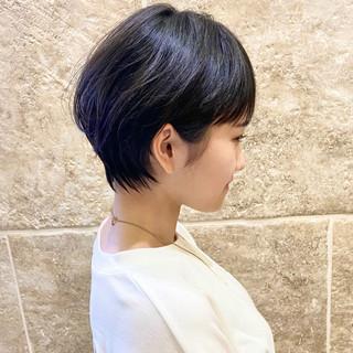 ベリーショート ショートボブ ショートヘア 大人ショート ヘアスタイルや髪型の写真・画像