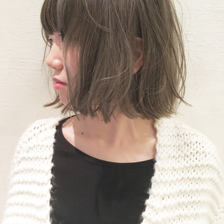 外国人風 グラデーションカラー ハイライト ナチュラル ヘアスタイルや髪型の写真・画像