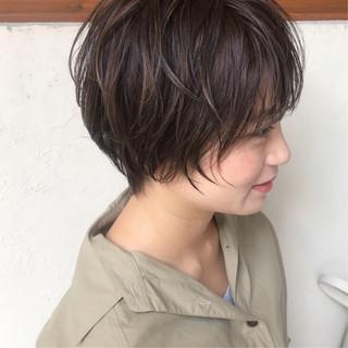 グレージュ ハイライト アッシュグレージュ ブランジュ ヘアスタイルや髪型の写真・画像