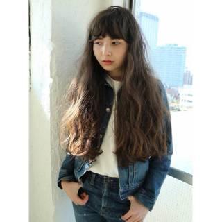ストリート ロング 春 パンク ヘアスタイルや髪型の写真・画像
