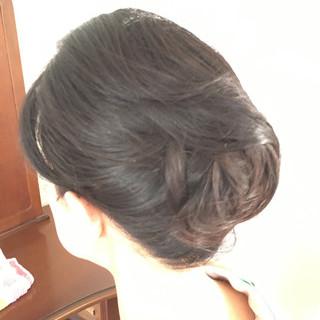 和装 ロング エレガント 和装髪型 ヘアスタイルや髪型の写真・画像