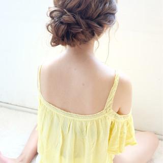 愛され ショート おフェロ ヘアアレンジ ヘアスタイルや髪型の写真・画像 ヘアスタイルや髪型の写真・画像