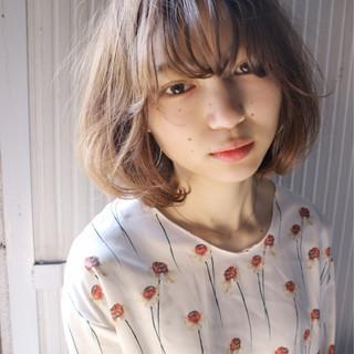 大人女子 ナチュラル 小顔 ニュアンス ヘアスタイルや髪型の写真・画像