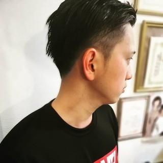 メンズ メンズカット ナチュラル メンズスタイル ヘアスタイルや髪型の写真・画像