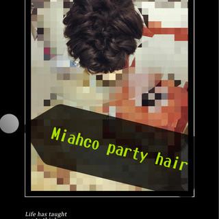 黒髪 ゆるふわ ヘアアレンジ ハーフアップ ヘアスタイルや髪型の写真・画像 ヘアスタイルや髪型の写真・画像