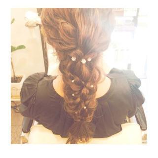 結婚式 上品 エレガント 女子会 ヘアスタイルや髪型の写真・画像