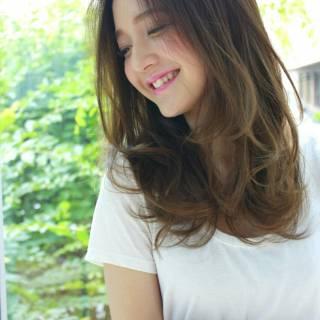 外国人風 モテ髪 ストリート 愛され ヘアスタイルや髪型の写真・画像