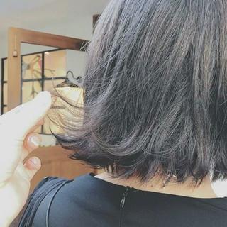 グラデーションカラー 大人かわいい モード 冬 ヘアスタイルや髪型の写真・画像