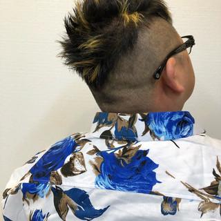 メンズカット メッシュ メンズカラー メンズヘア ヘアスタイルや髪型の写真・画像 ヘアスタイルや髪型の写真・画像