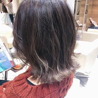 ナチュラルグラデーション ガーリー バレイヤージュ グラデーション ヘアスタイルや髪型の写真・画像