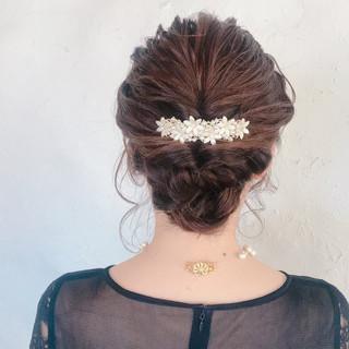 エレガント 成人式 簡単ヘアアレンジ デート ヘアスタイルや髪型の写真・画像