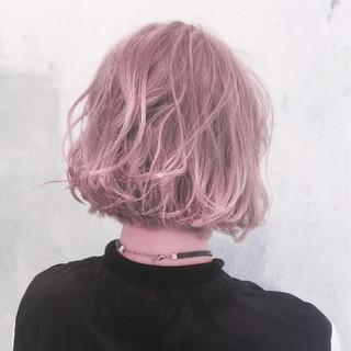グラデーションカラー アッシュ 暗髪 ガーリー ヘアスタイルや髪型の写真・画像
