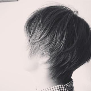 ショート ショートボブ ベリーショート ショートバング ヘアスタイルや髪型の写真・画像