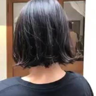 ナチュラル 色気 ゆるふわ ショート ヘアスタイルや髪型の写真・画像