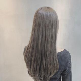 外国人風カラー 透明感カラー ブルーラベンダー ラベンダーグレージュ ヘアスタイルや髪型の写真・画像 ヘアスタイルや髪型の写真・画像