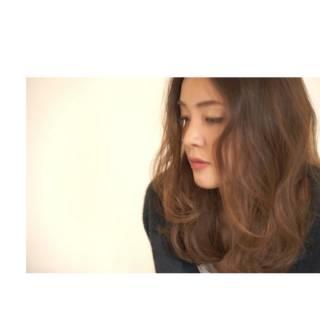 ロング 愛され ゆるふわ モテ髪 ヘアスタイルや髪型の写真・画像