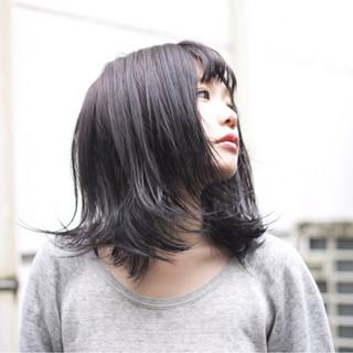 冬 色気 ストリート アッシュ ヘアスタイルや髪型の写真・画像
