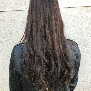 上品 春 エレガント ロング ヘアスタイルや髪型の写真・画像
