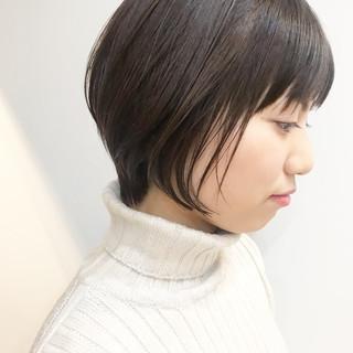 小顔ショート ショートヘア ショートボブ デート ヘアスタイルや髪型の写真・画像