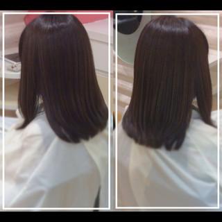 ナチュラル 白髪染め 髪質改善カラー 社会人の味方 ヘアスタイルや髪型の写真・画像