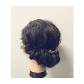 ショート 簡単ヘアアレンジ ストリート ミディアム ヘアスタイルや髪型の写真・画像 ヘアスタイルや髪型の写真・画像