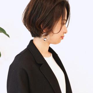 ショート ナチュラル ショートヘア グラデーションカラー ヘアスタイルや髪型の写真・画像