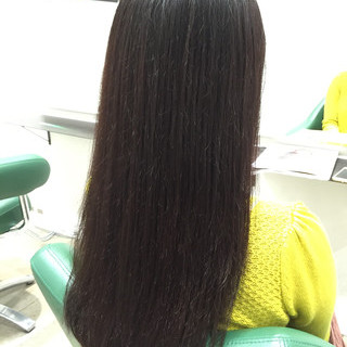 秋 ロング ブラウン 暗髪 ヘアスタイルや髪型の写真・画像 ヘアスタイルや髪型の写真・画像