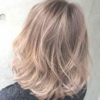 外国人風 パンク ストリート ハイトーン ヘアスタイルや髪型の写真・画像