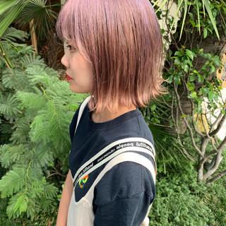 外国人風カラー 透明感カラー ストリート ハイトーンカラー ヘアスタイルや髪型の写真・画像