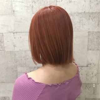 外国人風 ボブ ダブルカラー ハイトーン ヘアスタイルや髪型の写真・画像