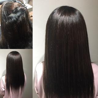 髪質改善トリートメント ナチュラル 縮毛矯正 髪質改善 ヘアスタイルや髪型の写真・画像