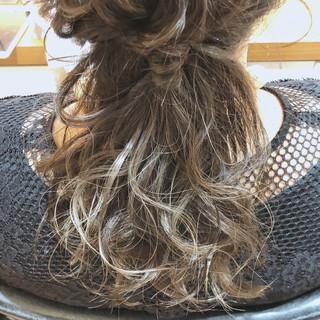 セミロング 外国人風カラー 上品 大人かわいい ヘアスタイルや髪型の写真・画像