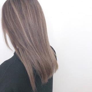 外国人風カラー 透明感カラー ナチュラル ヘアカラー ヘアスタイルや髪型の写真・画像