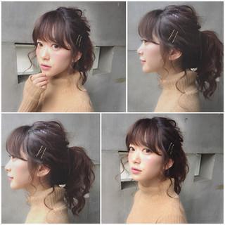 """デートに使える""""超""""簡単アレンジ♡ """"+ヘアピン""""でいつもより可愛くなってみる?"""