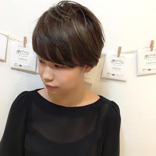 かわいい ハイライト 透明感 外国人風 ヘアスタイルや髪型の写真・画像