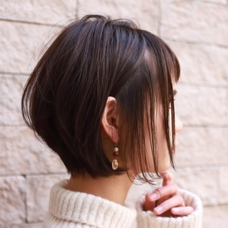 阿部美咲さんのヘアスナップ