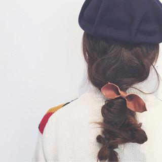 ナチュラル ゆるふわ ロング ヘアアレンジ ヘアスタイルや髪型の写真・画像