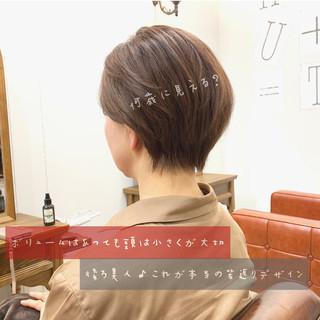 ゆるふわ アンニュイほつれヘア 大人かわいい ハンサムショート ヘアスタイルや髪型の写真・画像