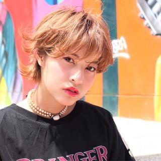 ニュアンス ショートボブ ヘアメイク 外国人風 ヘアスタイルや髪型の写真・画像