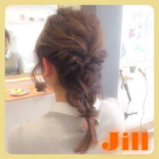 簡単ヘアアレンジ ヘアアレンジ ショート ねじり ヘアスタイルや髪型の写真・画像 ヘアスタイルや髪型の写真・画像