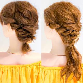 デート フェミニン 大人かわいい ロング ヘアスタイルや髪型の写真・画像