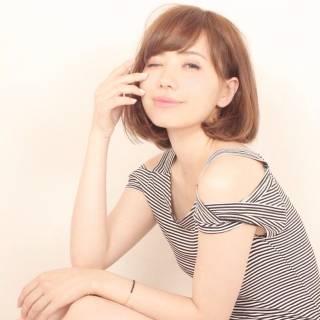 大人かわいい 卵型 フェミニン モテ髪 ヘアスタイルや髪型の写真・画像