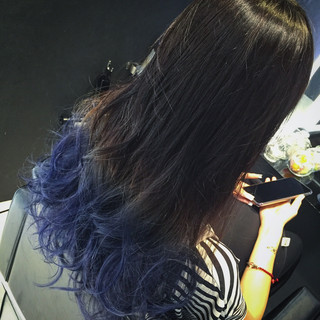 ロング 大人かわいい 渋谷系 暗髪 ヘアスタイルや髪型の写真・画像