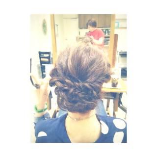 ロング ヘアアレンジ ルーズ ストリート ヘアスタイルや髪型の写真・画像