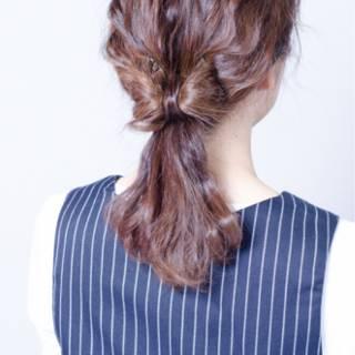 モテ髪 ヘアアレンジ ゆるふわ コンサバ ヘアスタイルや髪型の写真・画像