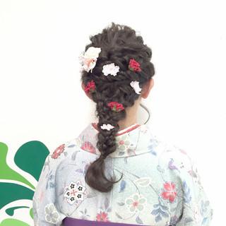 モテ髪 愛され 和装 アップスタイル ヘアスタイルや髪型の写真・画像 ヘアスタイルや髪型の写真・画像