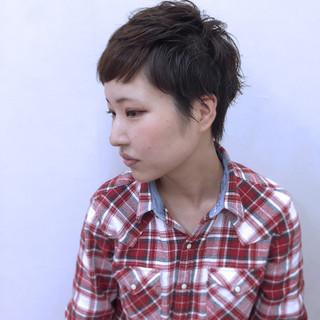 アッシュ 小顔 大人女子 ウェットヘア ヘアスタイルや髪型の写真・画像