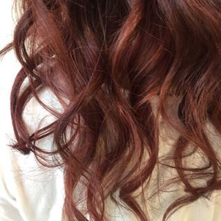 ガーリー ヘアアレンジ 外国人風カラー ロング ヘアスタイルや髪型の写真・画像